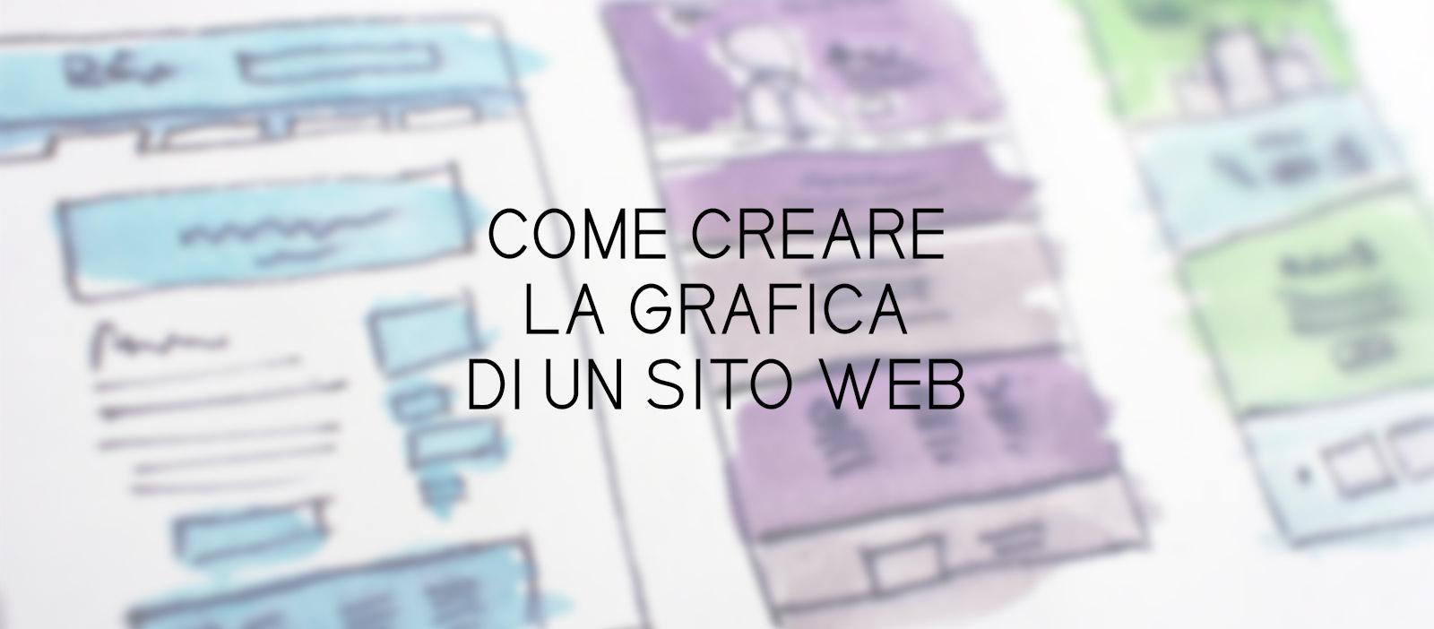 Come creare la grafica di un sito web